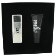 212 Vip by Carolina Herrera - Gjafasett -- 3.4 oz Eau De Toilette Spray + 3.4 oz Shower Gel f. herra