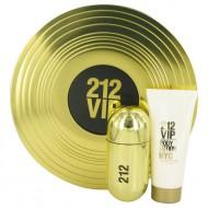 212 Vip by Carolina Herrera - Gjafasett -- 1.7 oz Eau De Parfum Spray + 3.4 oz Body Lotion f. dömur