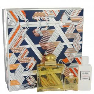 24 FAUBOURG by Hermes - Gjafasett -- 1.6 oz Eau De Parfum Spray + 1.35 oz Body Lotion + .25 oz Mini EDP f. dömur
