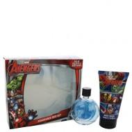 Avengers by Marvel - Gjafasett- 2.5 oz Eau De Toilette Spray + 5 oz Body Wash f. herra