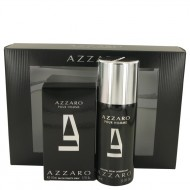 AZZARO by Azzaro - Gjafasett -- 1.7 oz Eau De Toilette Spray + 5 oz Deodorant Spray f. herra