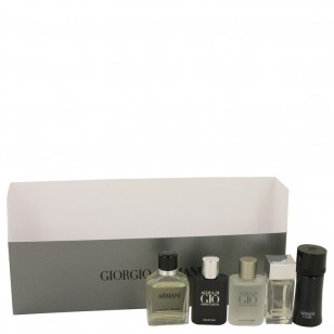 ARMANI by Giorgio Armani - Gjafasett- Travel Set Includes Armani Code, Emporio Armani Diamonds, Acqua Di Gio, Armani and Acqua Di Gio Profumo f. herra