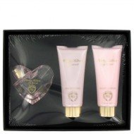 My Secret by Kathy Hilton - Gjafasett -- 1.7 oz Eau De Parfum Spray + 3.4 oz Shower Gel + 3.4 Body Lotion f. dömur