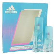Adidas Moves by Adidas - Gjafasett- 1 oz Eau De Toilette Spray + .5 oz Eau De Toilette Spray f. dömur