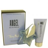 ANGEL by Thierry Mugler - Gift Set -- 1.7 oz Eau De Parfum Star Spray Refillable + 3.5 oz Body Lotion f. dömur