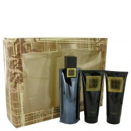 Bora Bora by Liz Claiborne - Gjafasett -- 3.4 oz Cologne Spray + 3.4 oz Body Moisturizer + 3.4 oz  Hair & Body Wash f. herra