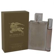 Burberry Brit Rhythm Floral by Burberry - Gjafasett- 3 oz Eau De Toilette Spray +.25 oz Mini EDT Roll On Pen f. dömur