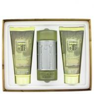 BELLAGIO by Bellagio - Gjafasett -- 3.4 oz Eau De Toilette Spray + 6.8 oz Shower Gel + 6.8 oz After Shave Balm f. herra