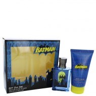 Batman by Marmol & Son - Gjafasett- 2.5 oz Eau De Toilette Spray + 5 oz Body Wash f. herra
