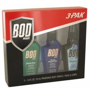 Bod Man Fresh Guy by Parfums De Coeur - Gjafasett -- Includes Fresh Guy, Really Ripped Abs and Dark Ice all in 1.5 oz Body Sprays f. herra