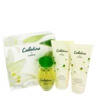 CABOTINE by Parfums Gres - Gjafasett -- 3.4 oz Eau De Toilette Spray + 6.7 oz Body Lotion + 6.7 oz Shower Gel f. dömur