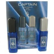 Captain by Molyneux - Gjafasett -- 2.5 oz Eau De Toilette Spray + 2.5 oz After Shave f. herra