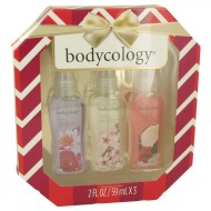 Bodycology Cherry Blossom by Bodycology - Gjafasett -- Bodycology Set Includes Truly Yours, Cherry Blossom and Coconut Hibiscus all in 2.5 oz Body Sprays f. dömur