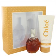 CHLOE by Chloe - Gjafasett- 3 oz Eau De Toilette Spray + 6.8 oz Body Lotion f. dömur
