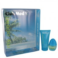 Club Med My Ocean by Coty - Gjafasett -- .33 oz Mini EDT Spray + 1.85 oz Body Lotion f. dömur