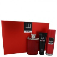 DESIRE by Alfred Dunhill - Gjafasett- 3.4 oz Eau De Toilette Spray + 3 oz Shower Gel + 6.6 oz Body Spray f. herra