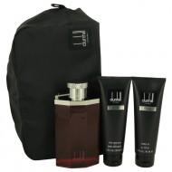 DESIRE by Alfred Dunhill - Gjafasett -- 3.4 oz Eau De Toilette Spray + 3 oz Shower Gel + 3 oz After Shave Balm + Bag f. herra
