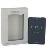 Eternity Aqua by Calvin Klein - Mini EDT Spray 20 ml f. herra