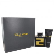 Fan Di Fendi by Fendi - Gjafasett -- 3.4 oz Eau De Toilette Spray + 3.3 oz Shower Gel f. herra