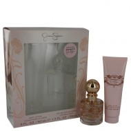 Fancy by Jessica Simpson - Gjafasett- 1.7 oz Eau De Parfum Spray + 3 oz Body Lotion f. dömur