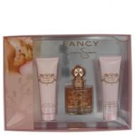 Fancy by Jessica Simpson - Gjafasett -- 3.4 oz Eau De Parfum Spray + 3.4 oz Body Lotion + 3.4 oz Shower Gel f. dömur