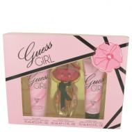 Guess Girl by Guess - Gift Set -- 1.7 oz Eau De Toilette Spray + 2.5 oz Body Cream + 2.5 oz Shower Cream f. dömur