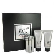 Montblanc Emblem Intense by Mont Blanc - Gjafasett -- 3.3 oz Eau De Toilette Spray + 3.3 oz After Shave Balm + 3.3 oz Shower Gel f. herra
