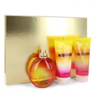 Missoni by Missoni - Gjafasett - 3.4 oz Eau De Toilette Spray + 3.4 oz Body Lotion + 3.4 oz Shower Gel f. dömur