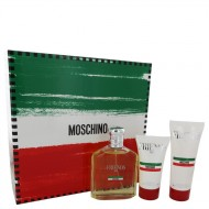 Moschino Friends by Moschino - Gjafasett -- 4.2 oz Eau De Toilette Spray +1.7 oz  After Shave Balm + 3.4 oz Shower Gel f. herra