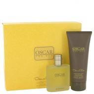 OSCAR by Oscar de la Renta - Gjafasett -- 3.4 oz Eau De Toilette Spray + 6.7 oz Hair & Body Wash f. herra
