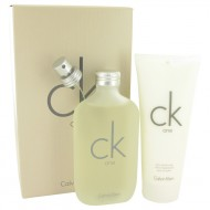 CK ONE by Calvin Klein - Gjafasett -- 6.7 oz Eau De Toilette Spray + 6.7 oz Body Moisturizer f. dömur