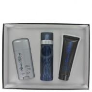 Paris Hilton by Paris Hilton - Gjafasett -- 3.4 oz Eau De Toilette Spray + 2.75 Deodorant Stick (Alcohol Free) + 3 oz Hair & Body Wash f. herra
