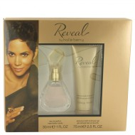 Reveal by Halle Berry - Gjafasett -- 1 oz Eau De Parfum Spray + 2.5 oz Bath & Shower Gel f. dömur