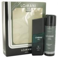LOMANI by Lomani - Gjafasett -- 3.4 oz Eau De Toilette Spray + 6.7 oz Deodorant Spray f. herra