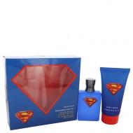 Superman by CEP - Gjafasett -- 2.5 oz Eau DE Toilette spray + 5 oz Body Wash f. herra