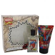 Spiderman by Marvel - Gjafasett- 2.5 oz Eau De Toilette Spray + 5 oz Body Wash f. herra