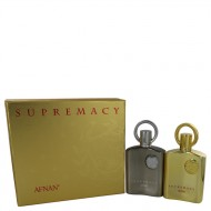 Supremacy Pour Femme by Afnan - Gjafasett -- 3.4 oz Eau De Parfum Spray Pour Femme + 3.4 oz Eau De Parfum Spray Pour Homme f. dömur