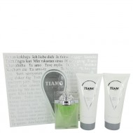 Tiamo by Parfum Blaze - Gjafasett -- 3.4 oz Eau De Parfum Spray + 6.8 oz After Shave + 6.8 oz Shower Gel f. herra
