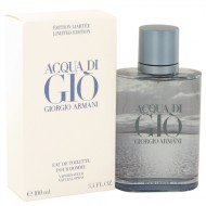 Acqua Di Gio Blue Edition by Giorgio Armani - Eau De Toilette Spray (Limited Edition) 100 ml f. herra