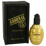 Arsenal Gold by Gilles Cantuel - Eau De Parfum Spray 100 ml f. herra