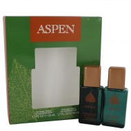 ASPEN by Coty - Gjafasett- Two 1.7 oz Cologne Sprays f. herra