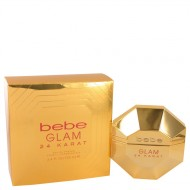 Bebe Glam 24 Karat by Bebe - Eau De Parfum Spray 100 ml f. dömur
