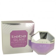 Bebe Glam Platinum by Bebe - Eau De Parfum Spray 100 ml f. dömur