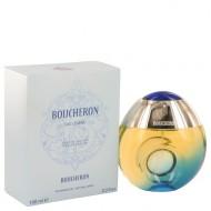 Boucheron Eau Legere by Boucheron - Eau De Toilette Spray (Blue Bottle, Bergamote, Genet, Narcisse, Musc) 100 ml f. dömur