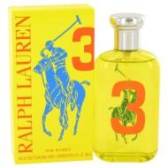 Big Pony Yellow 3 by Ralph Lauren - Eau De Toilette Spray 100 ml f. dömur