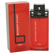 Bogart Story Red by Jacques Bogart - Eau De Toilette Spray 100 ml f. herra