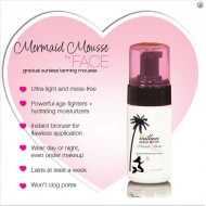 Mermaid Mousse FACE 118 ml.