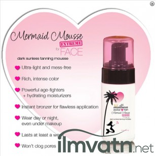 Mermaid Mousse Extreme FACE 118 ml.