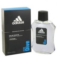 Adidas Ice Dive by Adidas - Eau De Toilette Spray 100 ml f. herra