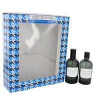 GREY FLANNEL by Geoffrey Beene - Gjafasett- 4 oz Eau De Toilette Spray + 4 oz After Shave f. herra